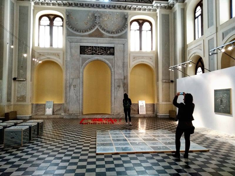 Our visit to the Yeni Camii - Peek at Greek - Greek language and culture school