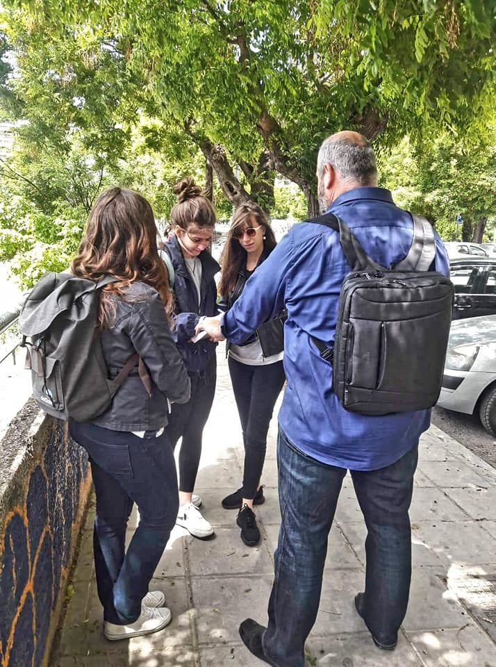 A special tour full of surprises! - Peek at Greek - Greek language and culture school